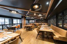 Tapas 24   Restaurant Tapas Montréal Restaurant Tapas, Conference Room, Table, Furniture, Restaurants, Home Decor, Decoration Home, Room Decor, Tables