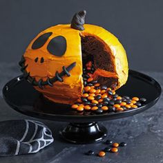 Use this cake pan to surprise your guests with hidden goodies! It's great for Halloween and other everyday events, like soccer season.