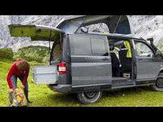▶ Extrem-Kletterer Stefan Glowacz trifft MultiCamper Adventure VW T5 Campingbus - YouTube