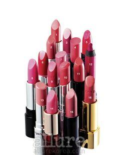 "Style.com Korea and Allure Korea December 2010  (STYLE.COM - 겨울에도 분홍 립스틱): ""Pink Winter Lips"" features Peripera's Wonder Of Lip #10 (#13)!"