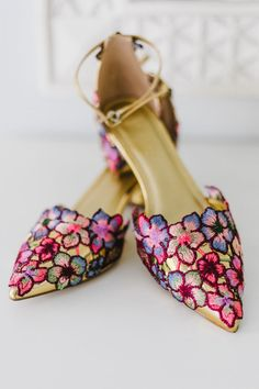 The Perfect Wedding Shoes – LivingWedding Rustic Boho Wedding, Whimsical Wedding, Boho Bride, Gold Wedding Shoes, Bohemian Wedding Inspiration, Bride Shoes, Wedding Trends, Kennebunkport Maine, Summer Wedding