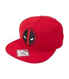 75daf777d5a Amazon.com - Marvel Deadpool Logo Snapback Baseball Cap
