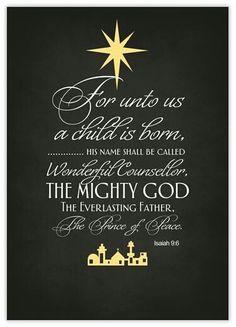 een kind is ons geboren