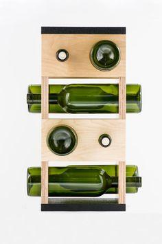 wine rack gift home decor modern geometrical functional https://www.etsy.com/listing/176730183/wine-rack-gift-home-decor-modern?ref=pr_shop