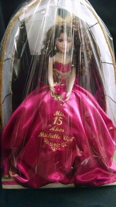 Custom ordered 15 añera doll with name engraved made by Karen's Bridal & Gifts