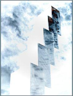 'Nur aufwärts' von Rudolf Büttner bei artflakes.com als Poster oder Kunstdruck $18.02
