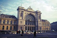 Keleti & Nyugati Pályaudvarok (Eastern & Western Railway Stations) these are the two most important train stations. They connect Budapest to the rest of Hungary as well as major cities on either side of Europe. Keleti is pictured here. Grand Hotel Budapest, Budapest Travel, Budapest City, New Travel, Train Travel, Travel Europe, Travel Tips, Monuments, Trains