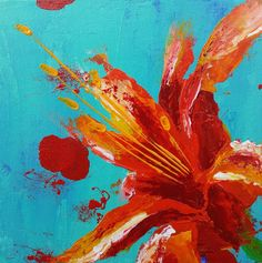 Fire and the Sky by J. Travis Duncan Orange-Red Lily by panoplei