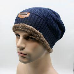2016 Brand Beanies Knit Men's Winter Hat Caps Skullies Bonnet Winter Hats For Men Women Beanie Fur Warm Baggy Wool Knitted Hat  http://www.dealofthedaytips.com/products/2016-brand-beanies-knit-mens-winter-hat-caps-skullies-bonnet-winter-hats-for-men-women-beanie-fur-warm-baggy-wool-knitted-hat/
