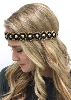 Glimmer Stone Headband
