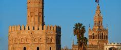 Torre del Oro y Giralda. Sevilla