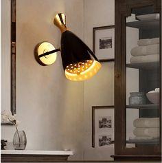 Post-modern vintage Wall lights Edison Bulb lamp modern fixtures lighting led industrial iron  Antique light  loft Lamps