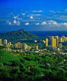 Stunning View of Oahu, Hawaii - USA