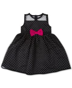 Penelope Mack Baby Girls' Dot Party Dress