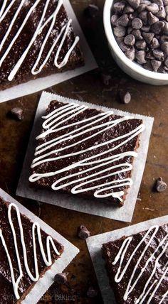 Fudgy Peppermint Mocha Brownies