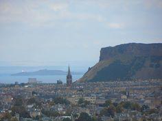 View of Edinburgh from The Royal Observatory Edinburgh | Europe a la Carte Travel Blog