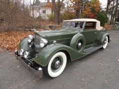 1934 Packard 1104 Convertible Coupe