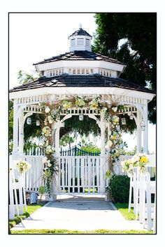 Gazebo Decor Example Of Branches
