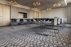The conference room of Hotel Walhalla, St Gallen. Colortec carpets from Dansk Wilton. Conference Facilities, Conference Room, St Gallen, Beautiful Hotels, Old And New, Carpets, Table, Furniture, Home Decor