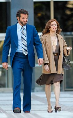 Bradley Cooper, Amy Adams in American Hustle by David O. Russell.