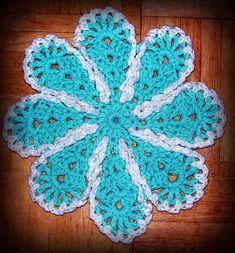 Ravelry: Lazy Daisy Dishcloth pattern by Maggie Weldon