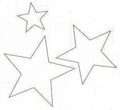 Estrellaimprimircolorearyrecortar4  Estrellas  Pinterest