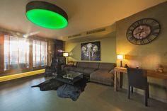 Svetelný strop kruhového tvaru priemeru 1200mm