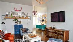 Antes y despúes: Un salón de viejo a vintage | Decorar tu casa es facilisimo.com