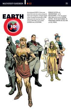 Earth 10 Justice league (DC Multiverse)