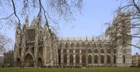 Westminster Abbey in London.  The present building dates mainly from the reign of King Henry III.