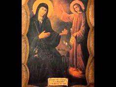 Απολυτίκιο Αγ  Ειρήνης της Χρυσοβαλάντου Youtube, Mona Lisa, Saints, Greek, Angel, Artwork, Quotes, Painting, Quotations