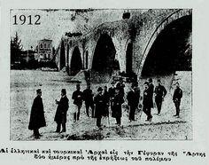 Το γεφύρι της  Άρτας, 1912 (Ελληνικές και Τούρκικες αρχές) Athens, Greece, Bridge, Movie Posters, Pictures, Memories, Vintage, Bridges, Greece Country