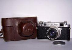 FED 2 Vintage Soviet Film Camera. USSR the 1960s от RarityFromAfar