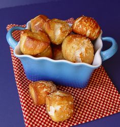 Soft Pretzel Bites...fun to make with the kids. :)