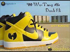 How to Paint Wu-Tang Nike Dunk-Hi (Custom Sneakers) Timelapsed Video Nike Air Force Low, Custom Sneakers, Sneakers Nike, Black Spiderman, Def Jam Recordings, Wu Tang Clan, Big Sean, Nike Dunks