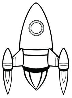 Rocket Free Digital Stamp