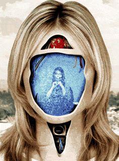 O sérvio Milos Rajkovic hipnotiza com suas imagens que unem máquinas e anatomia em um movimento surreal. | via