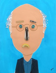 Larry David. por Hanoch Piven