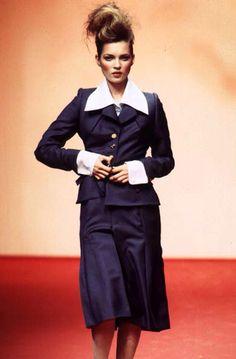 Kate Moss, Vivienne Westwood S/S 1997 Kate Moss (Runway/Catwalk & Backstage)