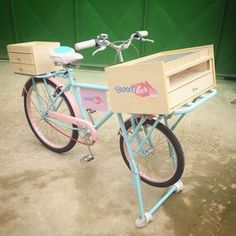 Maintaining Your Bicycle Chain Pallet Bike Racks, Food Cart Design, Bike Food, Bicycles For Sale, Mobile Shop, Fb Mobile, Flower Cart, Mobile Business, Sweet Box