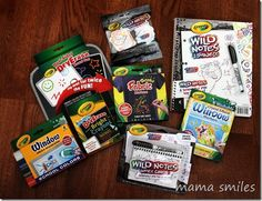 Fun Crayola products for Back to School #giveaway