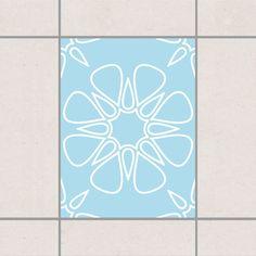 Fliesenaufkleber - Florale Wüste 20x15 cm - Fliesensticker Set