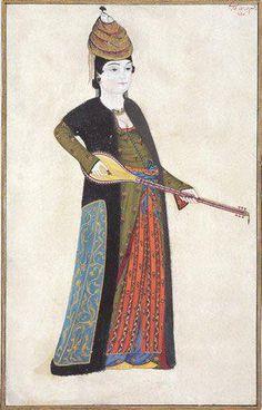 Sazende by Abdullah Buhari, 18th century, Istanbul University Library