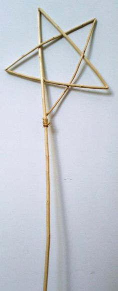 A willow star wand