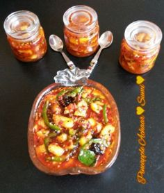 Pineapple Achaar recipe by Sumayah posted on 04 Jul 2017 . Recipe has a rating of by 3 members and the recipe belongs in the Miscellaneous recipes category Garlic Seeds, Pickels, Curry Leaves, Food Categories, Chutneys, Preserves, Real Food Recipes, Dips, Pineapple