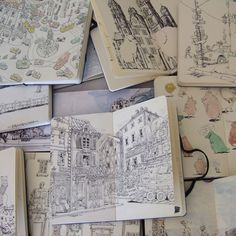Sketchbook Series: Mattias Adolfsson