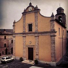 La Chiesa di Santa Lucia a #Capradosso frazione di #Rotella #terredelpiceno #marchetourism #destinazionemarche #piceno #picenopass #marche