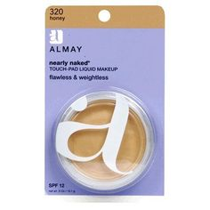 Almay Nearly Naked Touch-pad Liquid Makeup Honey with SPF 12, for Normal/combo Skin, 1 Each -- To view further for this item, visit the image link.