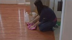 How to Clean Pet Urine Out of Wood Floors includes how to remove old hard stains that may need sanding