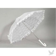 2012 Wedding Trend: Lace Parasols